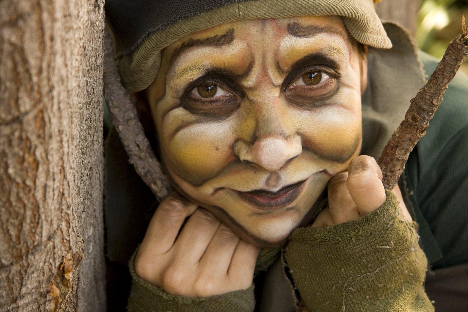maquillaje de elfo mujer
