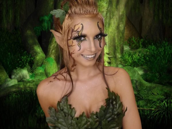 maquillaje-de-duende-halloween-2016-verde