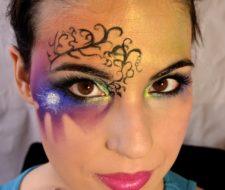 Maquillaje de fantasía para Halloween 2017