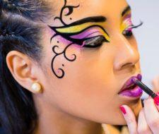 Maquillaje para Halloween 2017 de fantasía paso a paso