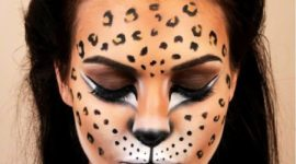 Maquillaje del musical Cats para Halloween 2017