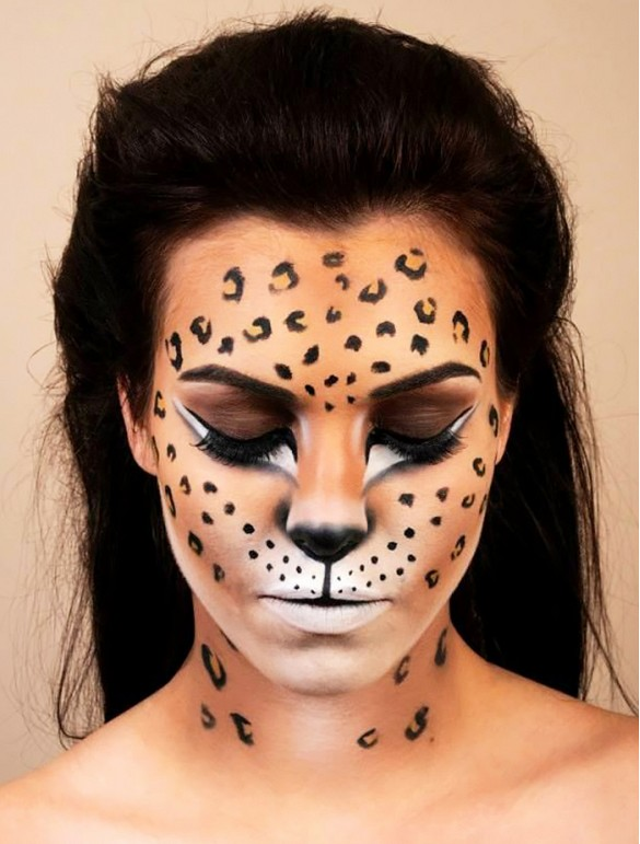 Maquillaje del musical Cats para Carnaval y Halloween 2018