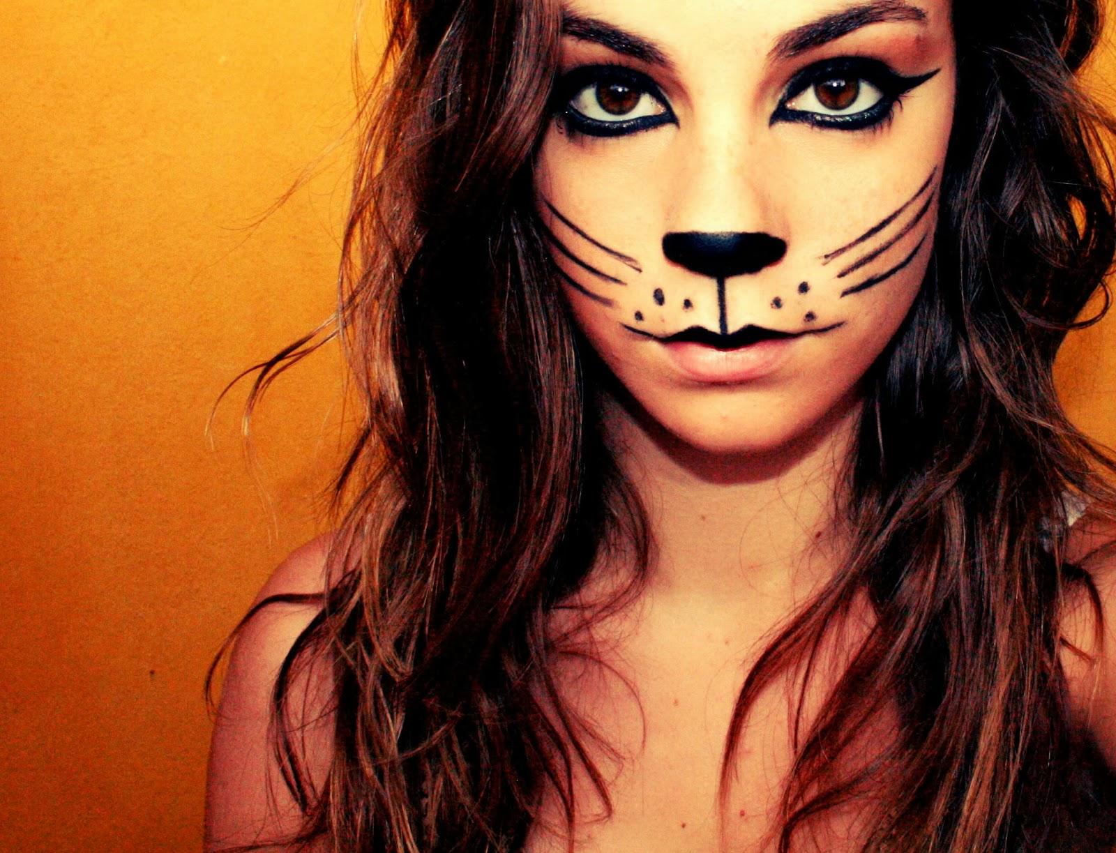 maquillaje de gato facil