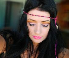 Maquillaje de Hippie Halloween 2017 – paso a paso