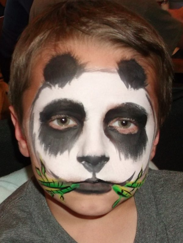Maquillaje para nios Halloween 2017 Oso panda  MaquillajeRossa