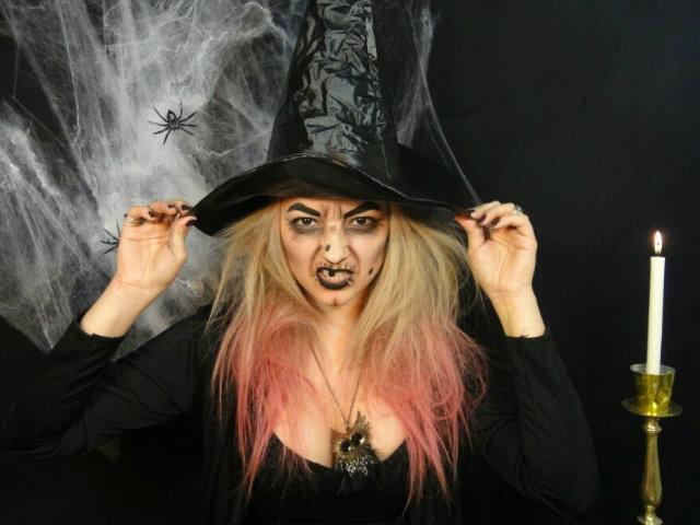 Maquillaje halloween 2016 bruja maquillajerossa for Como pintarse de bruja guapa