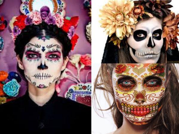 maquillaje-halloween-esqueleto-calavera-mexicana-diferentes-opciones