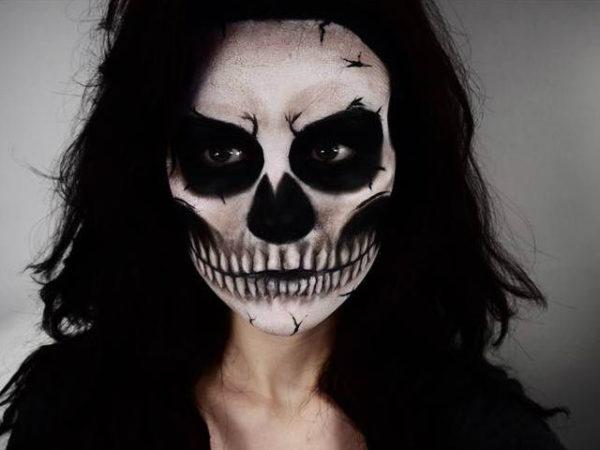 maquillaje-halloween-esqueleto-dientes