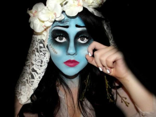 Maquillaje para halloween 2018 novia cad ver for Pinturas de cara para halloween