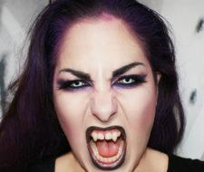Maquillaje de Vampiresa Carnaval 2017