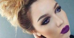 Maquillaje para un vestido morado: ideas y consejos
