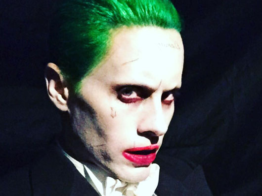 maquillaje joker escuadron suicida
