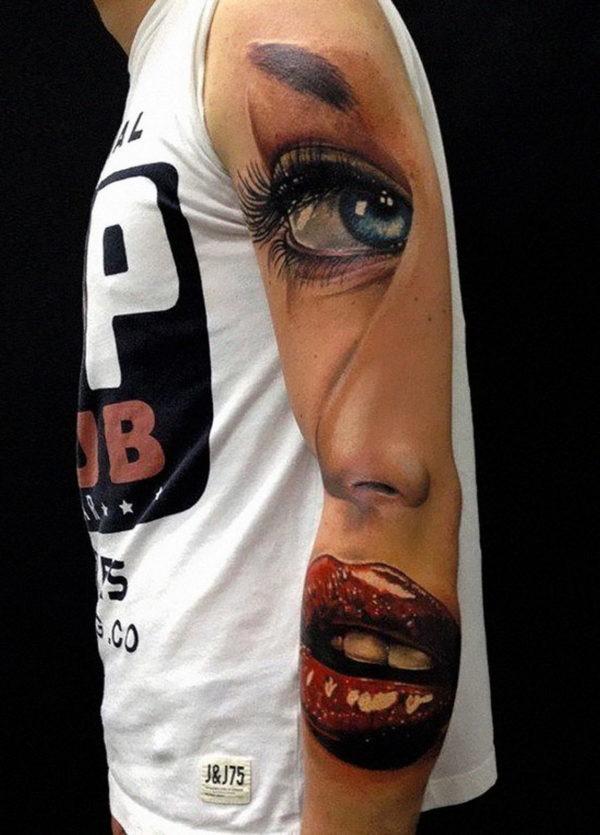 Tatuajes en el brazo para hombres Maquillajerossa