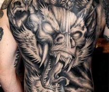 Más de 100 Tatuajes de Dragones – Fotos de Dragones Japoneses para hombres y Mujeres con significado