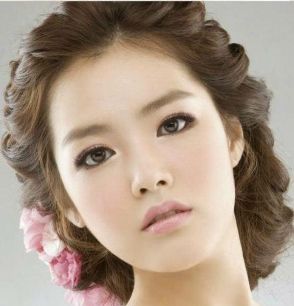 maquillaje-coreano-recogido