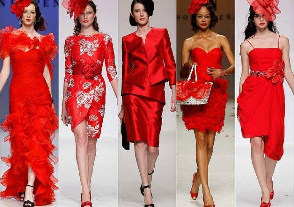 Las Mejores Ideas De Maquillaje Para Vestido Rojo