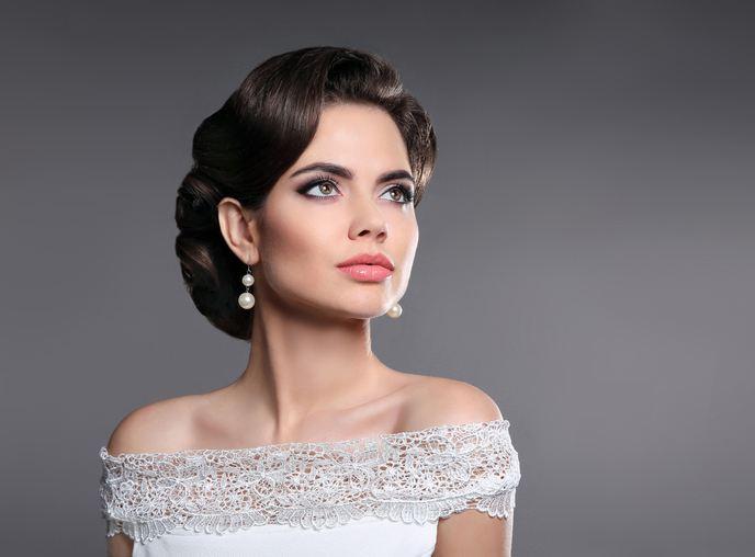 Mquillaje de novia de tarde ojos ahumados