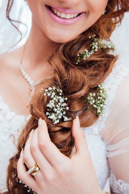 Peinados para novias ninas