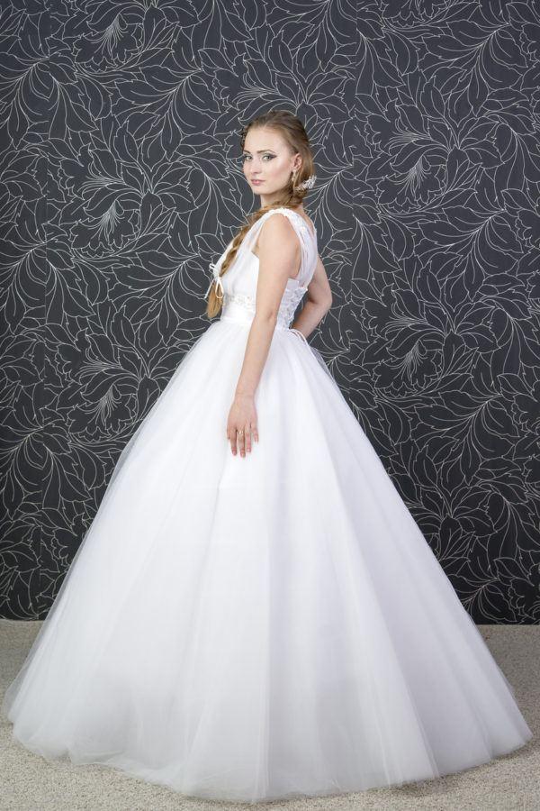 Peinados para novias peinado con trenza sencilla suelta