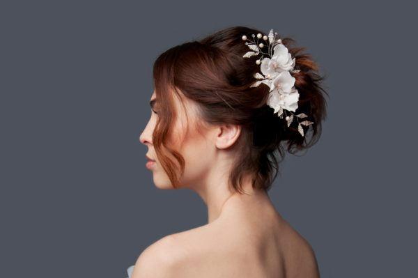 Peinados Para Novias 2018 Maquillajerossa - Peinados-para-novias-pelo-corto