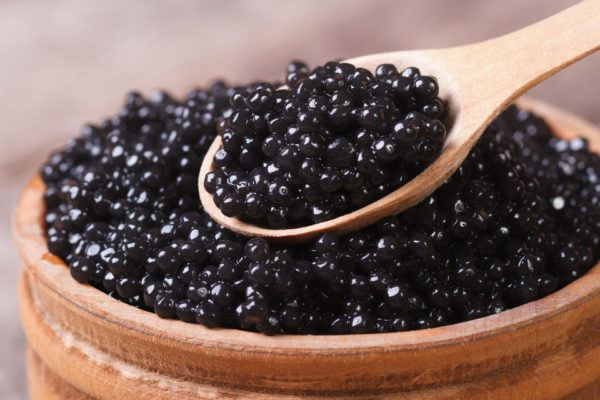 Tratamiento de caviar